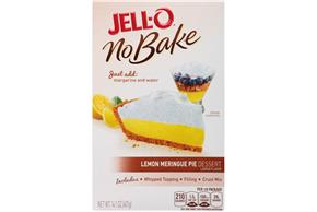Jell-O No Bake Lemon Meringue Pie Dessert Mix 14.1 Oz Box
