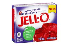 Jell-O Instant Gelatin Pomegranate Blueberry