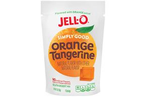 Orange Tangerine Jell-O Simply Good Gelatin - 3 Oz.