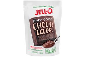 Chocolate Jell-O Simply Good Pudding - 3.9 Oz.