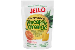 Pineapple Orange Jell-O Simply Good Gelatin - 3 Oz.