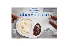 Philadelphia Milk Chocolate Cheesecake-Refrigerated Snacks  3.25 Oz