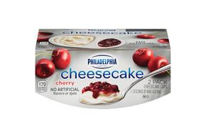 Philadelphia Cherry Cheesecake-Refrigerated Snacks  3.25 Oz
