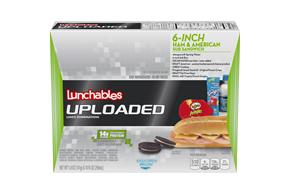 Lunchables Convenience Meals-Single Serve Ham And Cheese With Submarine Roll 15 Oz Box