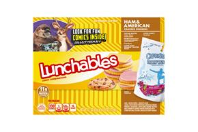 Lunchables Convenience Meals Ham And American With Capri Sun 9.1 Oz Box