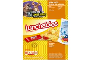 Oscar Mayer Lunchables Nacho Cheese Dip & Salsa With Capri Sun 10.7 Oz Box