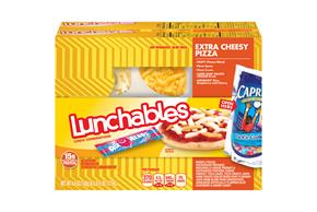 Lunchables 21.2 Oz Convenience Meals  Cheese Pizza     2 Box/Carton Inner Pack