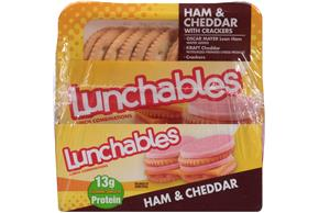 Lunchables 3.2 Oz Convenience Meals  Ham And Cheddar     8 Box/Carton Each