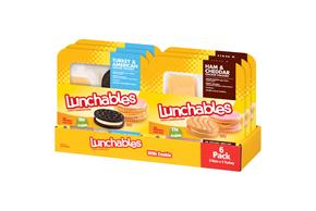 Lunchables 20.7 Oz Deli Kit  Turkey And Ham     1 Tray Each