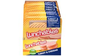 Lunchables 3.2 Oz Convenience Meals  Turkey And Cheddar     8 Box/Carton Each