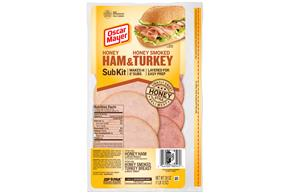 Oscar Mayer Ham And Turkey Subkit 28Oz