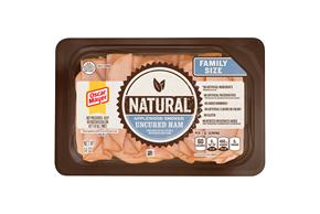 Oscar Mayer Natural Applewood Smoked Uncured Ham 14Oz