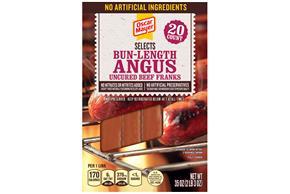 Oscar Mayer Selects Bun-Length Angus Franks 35Oz