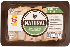Oscar Mayer Natural Slow Roasted Turkey Breast 14Oz