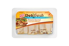 Oscar Mayer Deli Fresh Lower Sodium Rotisserie Seasoned Chicken Breast 8Oz
