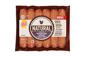 Oscar Mayer Natural Smoked Uncured Pork Sausage 13 Oz