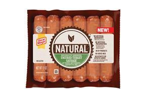 Oscar Mayer Natural Mesquite Smoked Turkey Sausage 13 Oz
