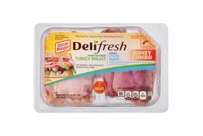 Oscar Mayer Deli Fresh Combos Honey Ham & Smoked Turkey 9Oz