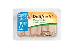 Oscar Mayer Deli Fresh Honey Smoked Turkey Breast 22Oz