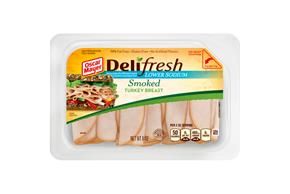 Oscar Mayer Deli Fresh Lower Sodium Smoked Turkey 8Oz
