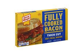 Oscar Mayer 2.52 Oz Bacon  Hearty Thick Cut Coupon/Instant Redeemable Coupon    12 Box/Carton Case