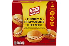 Oscar Mayer Turkey & Provolone Slider Melts