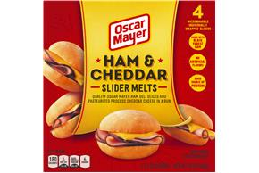 Oscar Mayer Ham & Cheddar Slider Melts