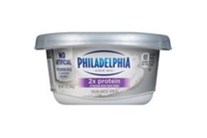 Philadelphia 2X Protein Plain Cream Cheese-Soft 7 Oz Tub