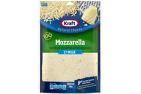 Kraft 2% Milk Mozzarella Shredded Natural Cheese 14Oz Bag