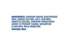 Kraft Mild Shredded Natural Cheese  16Oz Bag