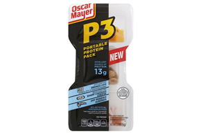 Oscar Mayer 10 Oz P3 - Protien Power Pack Convenience Meals-Single Serve  Ham And Cheese     5 Multi