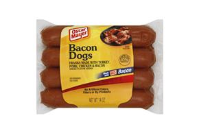 Oscar Mayer 14 Oz Franks  Bacon     1 Vacuum Packed Each