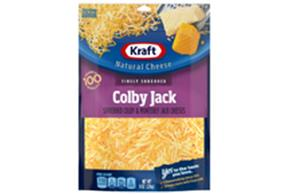 Kraft Colby & Monterey Jack Finely Shredded Natural Cheese  8Oz Bag