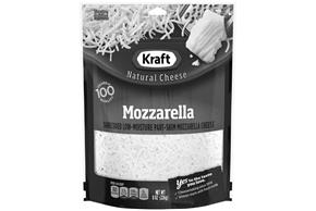 Kraft Mozzarella Shredded Natural Cheese 8 Oz Bag