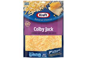 Kraft Colby & Monterey Jack Shredded Natural Cheese  8Oz Bag
