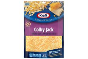 Kraft Colby & Monterey Jack Shredded Natural Cheese 8 Oz Bag