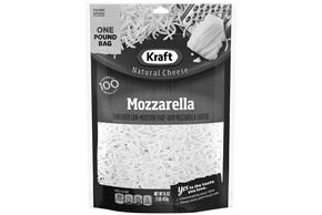 Kraft Mozzarella Shredded Natural Cheese  16Oz Bag