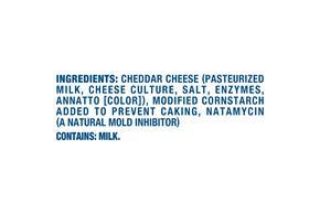 Kraft Mild Cheddar Finely Shredded Natural Cheese  16Oz Bag