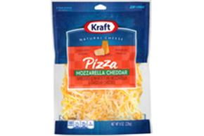 Kraft Pizza Style Mozzarella & Cheddar Shredded Natural Cheese  8Oz Bag