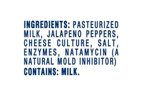 Kraft Pepper Jack Natural Cheese Block  8 Oz  Vacuum Packed