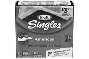 Kraft Singles American Cheese Slices 12 Oz (16 Count)