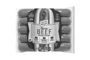 Oscar Mayer Classic Beef Uncured Franks 15 Oz Pack (10 Ct)