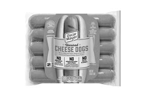 Oscar Mayer Uncured Cheese Dogs 10 Count Pack