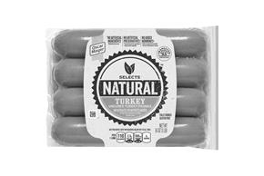 Oscar Mayer Selects Turkey Franks 16 Oz Pack