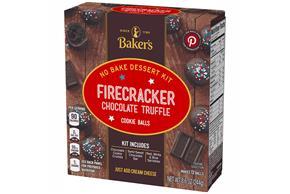 Baker's Cookie Ball Dessert Kits, Firecracker Chocolate Truffle, 8.6Oz, Makes 12 Cookie Balls