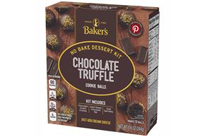 Baker's Cookie Ball Dessert Kits, White Chocolate, 8.6Oz, Makes 12 Cookie Balls