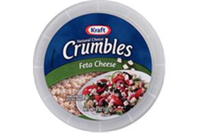 Kraft Natural Cheese Feta Cheese Crumbles 5 Oz Tub