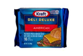 Kraft Deli Deluxe American Cheese Slices 12 Oz Package (16 Slices)