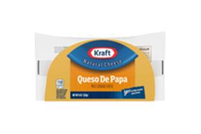 Kraft Mild Cheddar Half Moon Natural Cheese Block  8 Oz  Vacuum Packed