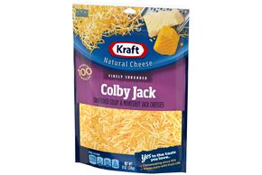 Kraft Colby & Monterey Jack Finely Shredded Natural Cheese 8 Oz Bag